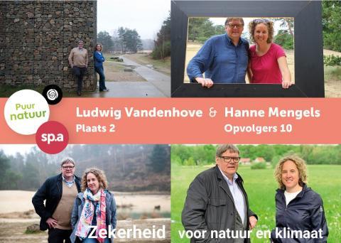 Compilatie foto's van de campagne van Hanne en Ludwig