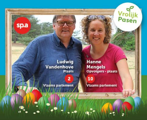 Vroljk pasen van Hanne en Ludwig