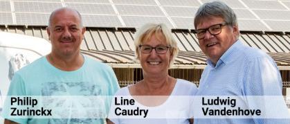 Philip Zurinckx, Line Caudry, Ludwig Vandenhove