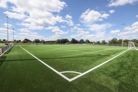 Voetbalveld Velm met kunstgras