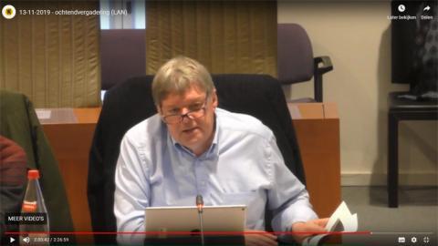 Ludwig in de Commissie voor Landbouw, Visserij en Plattelandsbeleid van het Vlaams parlement op woensdag 13 november 2019