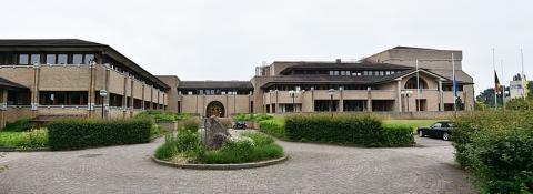 Het Limburgs provinciehuis te Hasselt