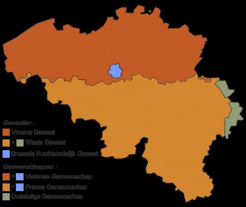 Belgische gewesten en gemeenschappen