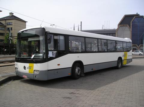 foto van een bus van 'De Lijn'