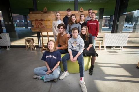 leerlingen school 'het Kompas'