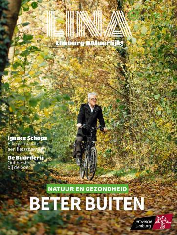 Voorkant zesde editie 'Limburg NAtuurlijk'