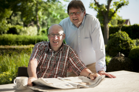 Ludwig Vandenhove en Johnny Vangrieken