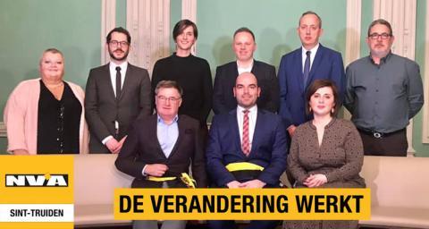 N-VA fractie gemeenteraad Sint-Truiden
