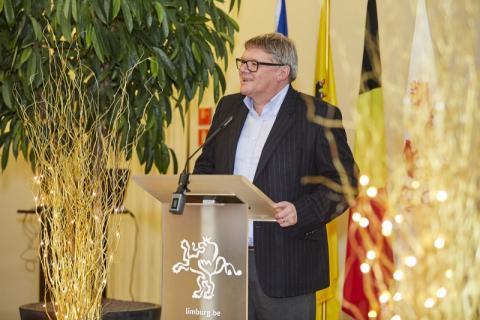 Huldiging personeelsleden provincie limburg