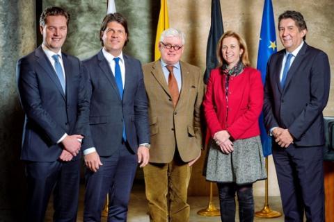 gedeputeerden van de provincie Limburg