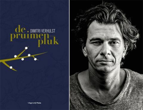 Cover boek en foto Dimitri Verhulst