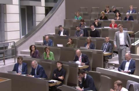 Linkse fracties in het Vlaams Parlement