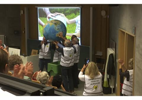 voorstelling 'grootouders voor het klimaat'