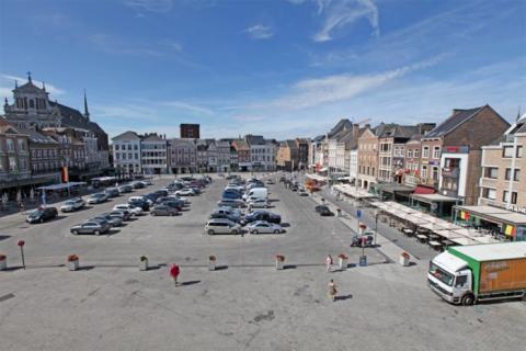 Grote markt - parking