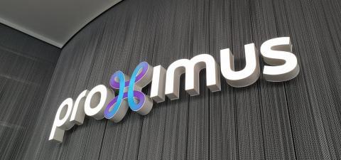 Logo van Proximus