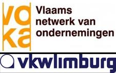 Logo's Voka en VKW Limburg