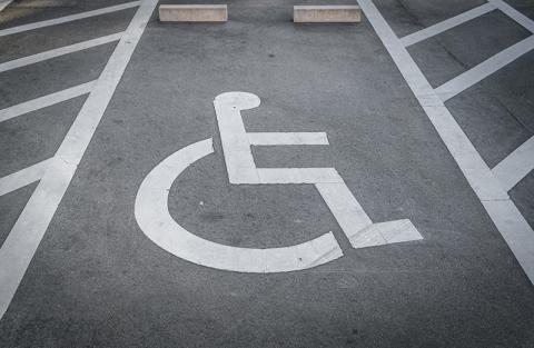 parking gehandikapten