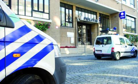 foto van politiewagen
