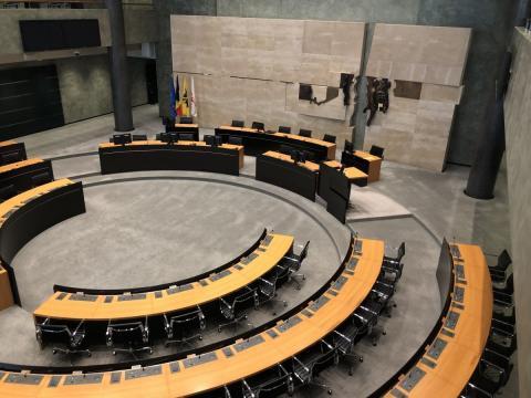 Lege provincieraadszaal