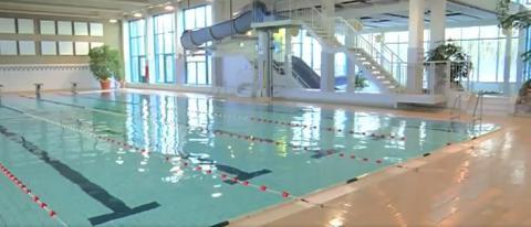 Leeg zwembad Sint-Truiden - TVL