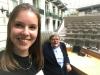 Noor en Ludwig in het Vlaams Parlement